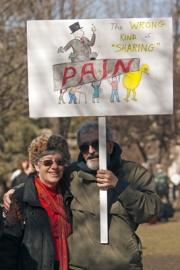 Creative umbrage imbues Michigan's capitol